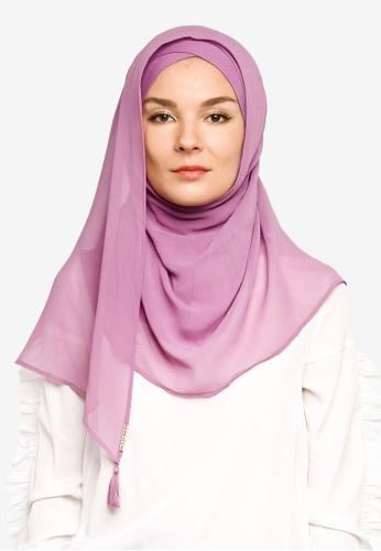 Bokitta purple Berry Instant Hijab E5D34AAEEB2434GS_1