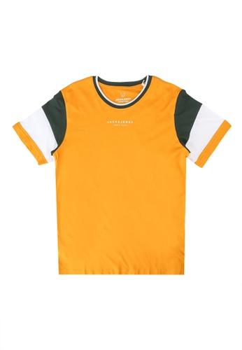 Jack & Jones orange Donda Tee EED6BKA6D05A66GS_1