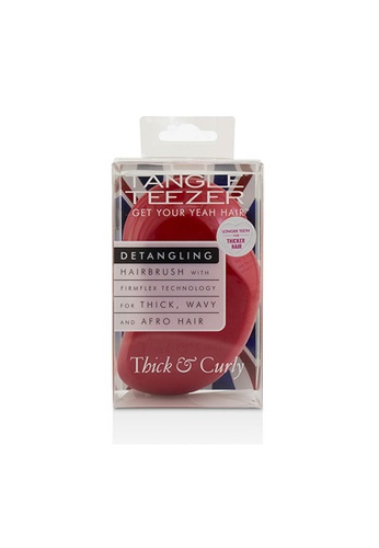 Tangle Teezer TANGLE TEEZER - Thick & Curly Detangling Hair Brush - # Salsa Red (For Thick, Wavy and Afro Hair) 1pc 3E05BBE763EE68GS_1