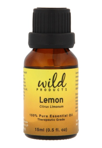 Wild Products Lemongrass Essential Oil (Cymbopogon Flexuosus) Organic - 15ml 11C40BE518EB07GS_1