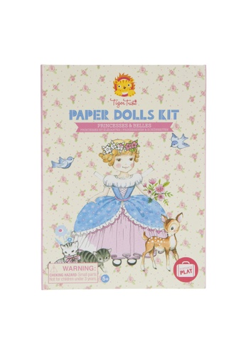 Tiger Tribe Paper Dolls Kit - Princesses And Belles 56C20THB7BB46AGS_1