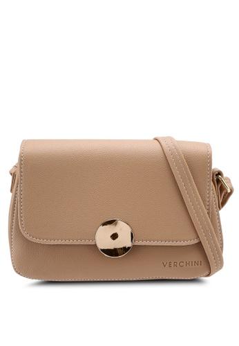 Verchini brown Verchini Magnus Sling Bag C8E2AACEE513F1GS_1