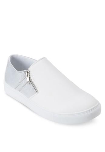 雙色拉鍊懶人鞋, 鞋,esprit home 台灣 鞋