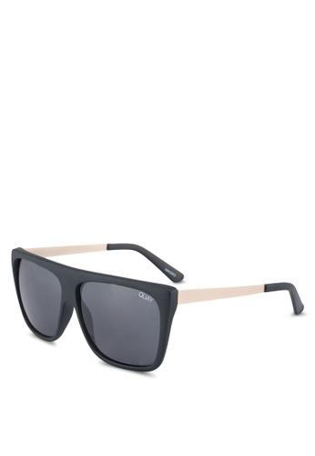 Quay Australia black OTL II Sunglasses AA788GL441DE3FGS_1