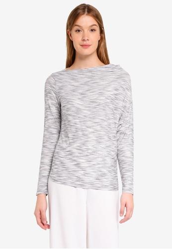 Sisley grey Asymmetric Top 0F3E5AA0118D3FGS_1