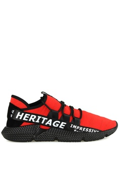 1ab2a07cbf64 Tomaz black and red Tomaz C385A Casual Sneakers (Red Black)  249B3SH3D3715FGS 1