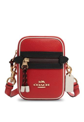 Coach red Phoebe Crossbody Bag (cv) 8DF15AC2BA5199GS_1