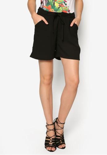 Josefina 寬管抽繩短褲, 服飾, zalora 包包評價服飾