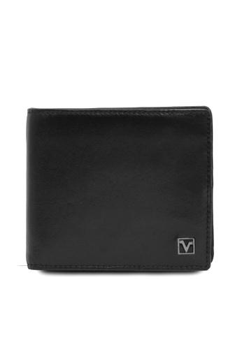 Valentino Rudy black Valentino Rudy Full Leather Bi Fold Wallet 221AFAC955350DGS_1