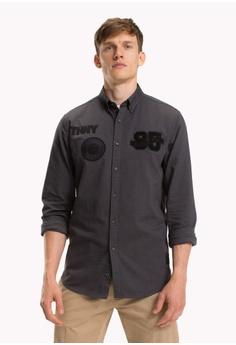 e0bb86cb4 30% OFF Tommy Hilfiger MULTI BADGE SHIRT S$ 209.00 NOW S$ 146.30 Sizes S M  L XL