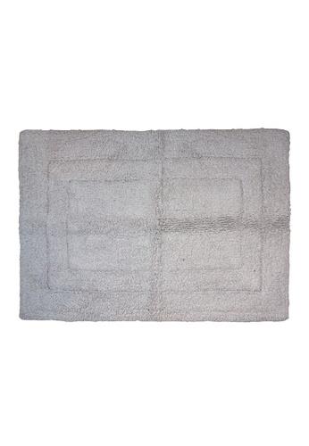 Charles Millen SET OF 2 Charles Millen Suite Collection 100 % Super Soft Cotton BS - 115 Classique Tufted Rug / 45 x 65cm/ 455g. CBF78HL1C1C82FGS_1