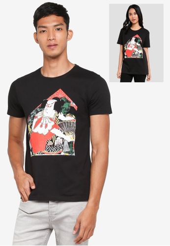 UniqTee black Japanese Culture Graphic Tee 4D5D2AA9A71844GS_1