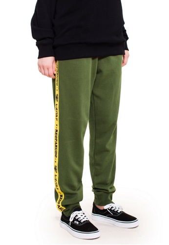 Reoparudo green RPD Superstar Sweat Pants (Army Green) 8028DAAD7CB258GS_1