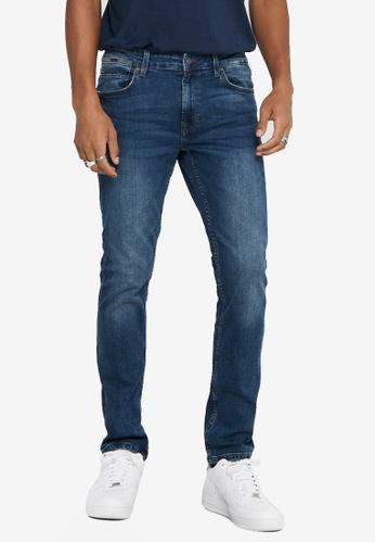 Only & Sons blue Weft Life Regular Jeans F897EAAF63F188GS_1