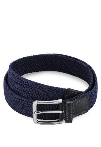 EAGLE Genuine Leather Elastic Belt W30-B