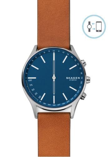 Skagen brown Holst Hybrid Smartwatch SKT1306 B301BACBC1E870GS_1