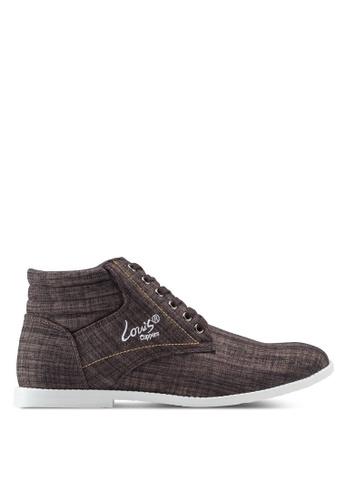 Louis Cuppers brown High Top Sneakers LO977SH96ZJBMY_1