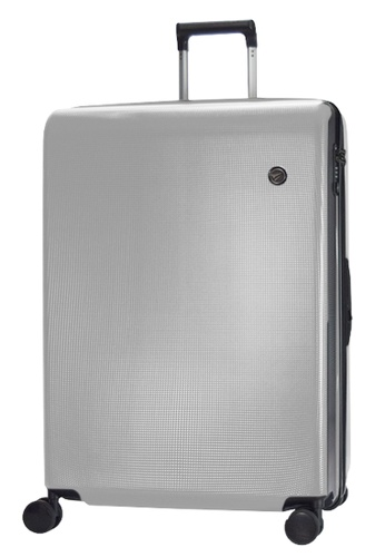Airways silver Airways Elite ATH 7914 PC 20 inch Spinner Hard Case Luggage - Silver BC28EAC63354F5GS_1