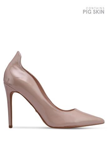 TOPSHOP 米褐色 Sammy Court Shoes 40DD6SHBCE3DE8GS_1