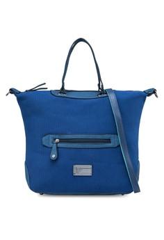 Front Zipper Casual Tote Bag