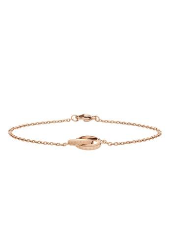 Daniel Wellington gold Elan Unity Bracelet Rose Gold 185mm 0B5E3AC98B7AB8GS_1