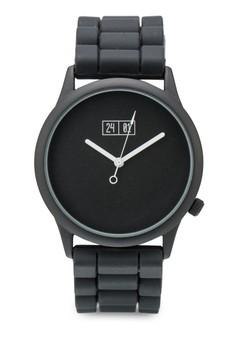 簡約矽膠帶手錶