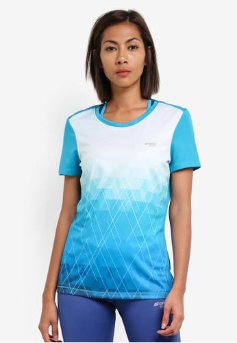 2GO blue Round Neck Short Sleeve T-Shirt 2G729AA0S5X9MY_1