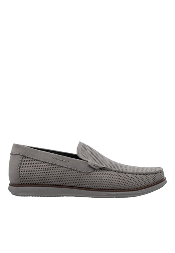 Hush Puppies grey Hush Puppies Men's Corona  Loafer - Grey D422CSH6422E2EGS_1