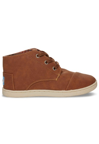 TOMS brown TOMS - Paseo Mid Brown Synthetic MN TO818SH60FJFMY_1