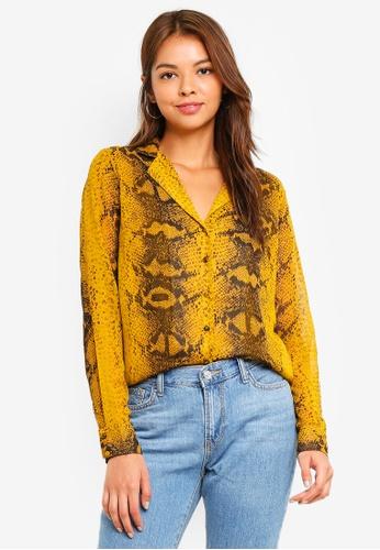 Pieces Daisy Long Sleeve Shirt 94952AA8087C5FGS_1