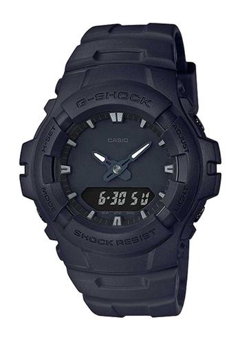 CASIO black Casio G-Shock Black Resin Watch F851DAC86FBDA6GS_1