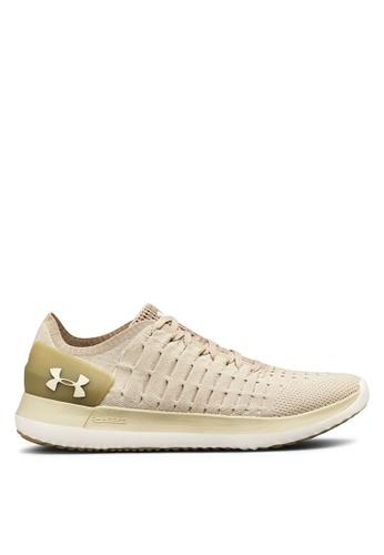 Under Armour beige UA Slingride 2 Shoes 04DF1SH80E01E2GS_1