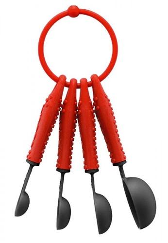 Bodum red Bistro Set (5Pcs Measuring Spoons) 95B64HLEF30B4BGS_1
