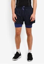 2GO navy GO Dry Sports Shorts 2G729AA0S5WBMY_1
