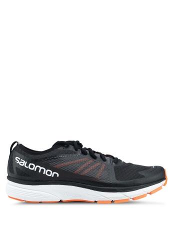 Salomon black Sonic Ra Shoes DE8ACSH90563D6GS_1