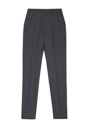 D'urban grey Straight Leg Dress Pants 52687AA6391B3DGS_1