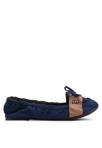 Carlton London 海軍藍色 麂皮樂福鞋 B59DBSHB2212DDGS_1
