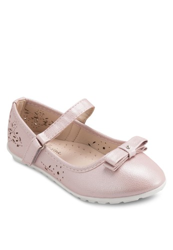 Avery 雕花舒適平底鞋, esprit台灣門市鞋
