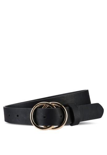 ONLY black Rasmi Faux Leather Jeans Belt 0D373ACEE15882GS_1