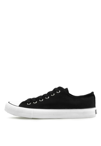 Levi's black Levi's Sneaker Dunk Pitch Low Cut - Black LE306SH61NYCID_1