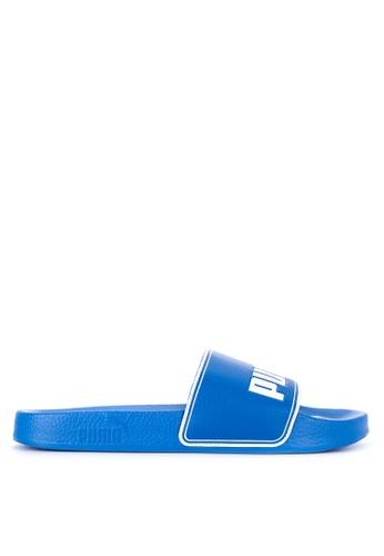 Puma blue Leadcat Flip-Flops FC2F7SHB54807FGS_1