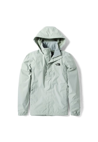 The North Face green The North Face Men's New Sangro Plus Jacket Tin Grey BFE88AAAA9CE51GS_1