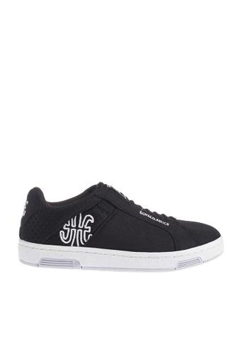 Royal Elastics black Icon Mesh Sneakers RO796SH2UYLVHK_1