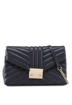 b9c458ec48 MANGO black Flap Crossbody Bag E908EAC47D15E0GS 1