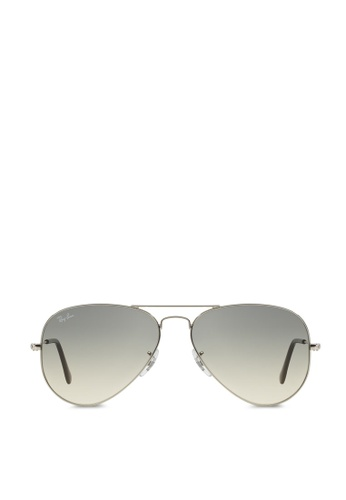 d0c79f534a9 Buy Ray-Ban Aviator Large Metal RB3025 Sunglasses Online on ZALORA ...