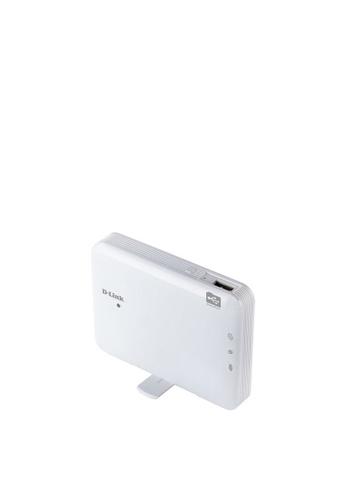 D-Link WiFi N150 迷你移動內置鋰電池路由器,可攜式袖珍雲路由器 無線路由器 便攜 無線訊號放大器 3G/4G LTE AP+Router N150Mbps 緊湊型 帶鋰電池 (DIR-506L) B3E86ES94D1D90GS_1