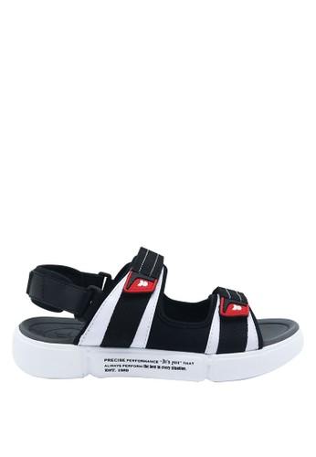 Precise black Precise Costa SG Sandal Gunung - White/Black C656ESHD1AD46EGS_1