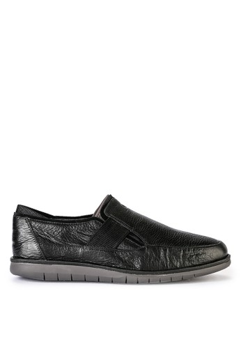 Hush Puppies black Bolt Slipon E6A30SHDED0DC9GS_1