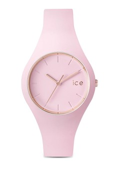 Ice Glam Pastel Pink Lady Small Watch