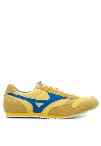 Mizuno yellow and blue RS 88 Sneakers MI197SH63UCUPH_1